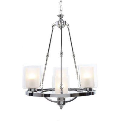 Lampa wisząca Lumina Deco LDP-1220-4-CHR Santini W4