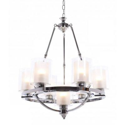 Lampa wisząca Lumina Deco LDP-1220-7-CHR Santini W7