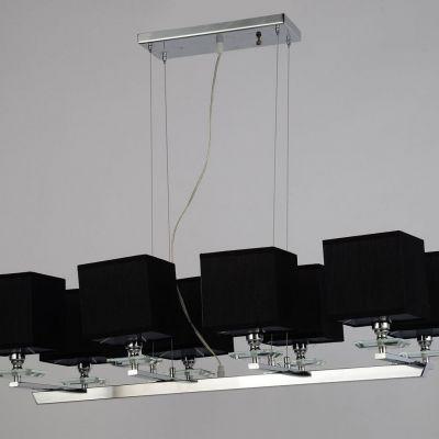 Lampa wisząca Lumina Deco LDP-1248-8-BK Fianelo