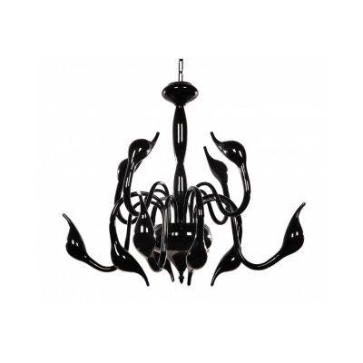 Lampa wisząca Lumina Deco LDP-6028-12-BK Magica W12
