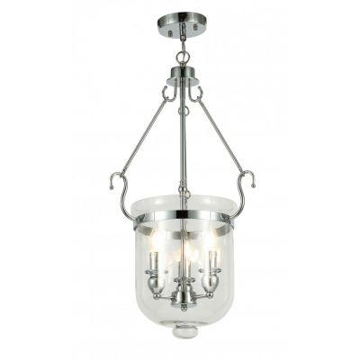 Lampa wisząca Lumina Deco LDP-6116-3-CHR Leo