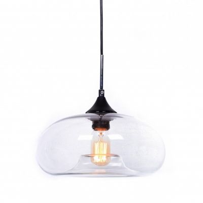 Lampa wisząca Lumina Deco LDP-6810-1-PR Brosso D30 Clear