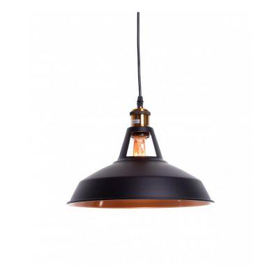 Lampa wisząca Lumina Deco LDP-6857-BK Zonda