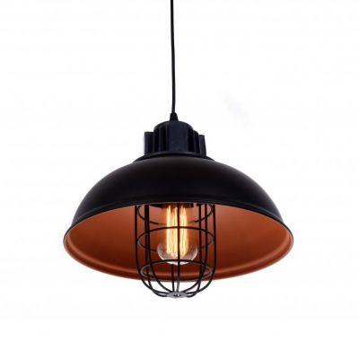 Lampa wisząca Lumina Deco LDP 6859 (BK) Fuko