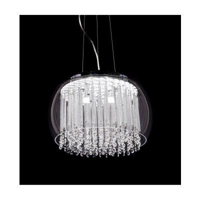 Lampa wisząca Lumina Deco LDP-7019-400-PR Gusto D40 Clear