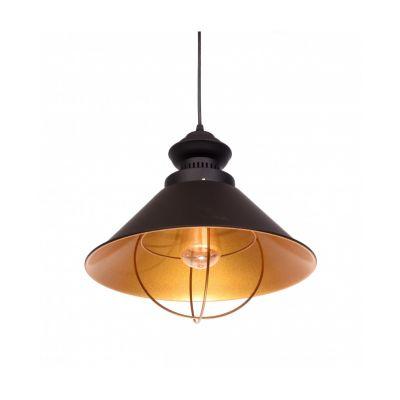 Lampa wisząca Lumina Deco LDP-7930-BK Kugar
