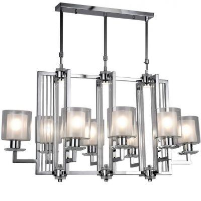 Lampa wisząca Lumina Deco LDP-8012-8-CHR Manhattan Pro