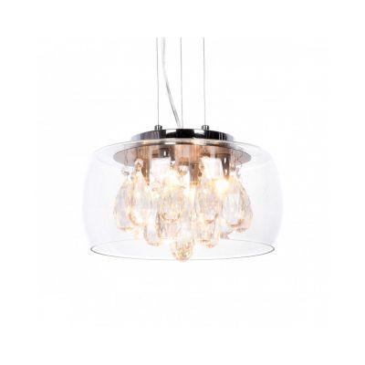 Lampa wisząca Lumina Deco LDP-8066-300 Tosso D30 Clear