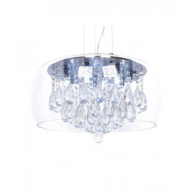 Lampa wisząca Lumina Deco LDP 8066-500 Tosso D50 Clear
