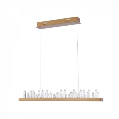 Lampa Gletscher LED H186-PL-01-40W-BS Brass Maytoni