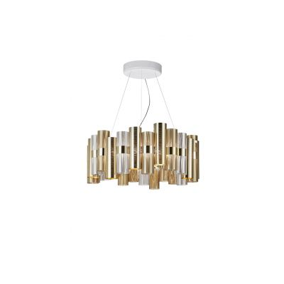 Lampa wisząca Slamp LAL87SOS0003OF000 La Lollo Large Gold