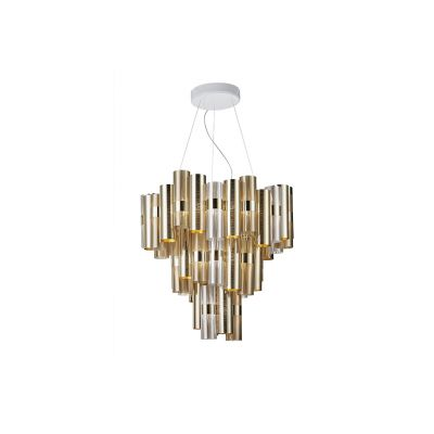 Lampa wisząca Slamp LAL87SOS0004OF000 La Lollo Gold