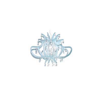 Lampa wisząca Slamp MED14SOS0000CT Medusa Blu Gel