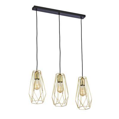 Lampa wisząca TK Lighting 2698 Lugo Gold