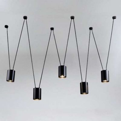 Lampa wisząca VIWIN 9023/GU10/CZ Shilo