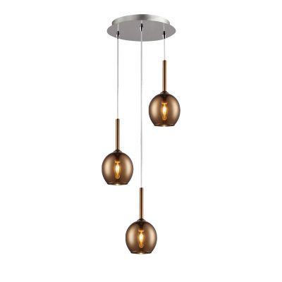 Lampa sufitowa Zuma Line Monic Pendant MD1629-3B (copper)