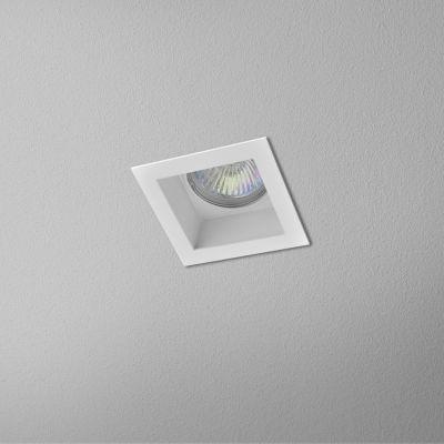 Lampa wpuszczana AQForm Minisquare x 1 Recessed Biały Struktura