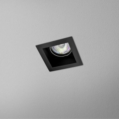 Lampa wpuszczana AQForm Minisquare x 1 230V Recessed Czarny Struktura