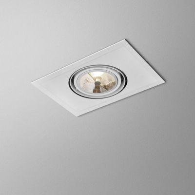 Lampa wpuszczana AQForm Sleek 111 x 1 Recessed Biały Struktura