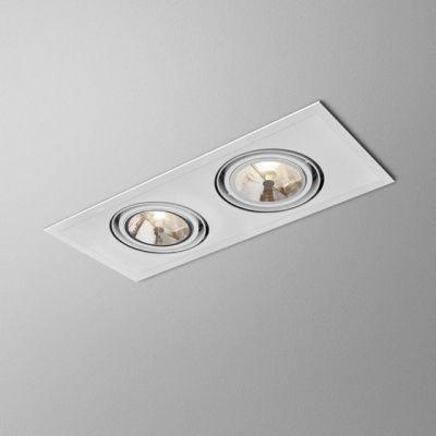 Lampa wpuszczana AQForm Sleek 111 x 2 Recessed Biały Struktura