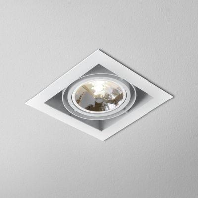 Lampa wpuszczana AQForm Squares 111 x 1 Recessed Biały Struktura