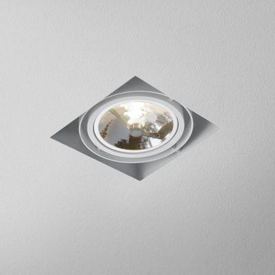 Lampa wpuszczana AQForm Squares 111 x 1 Trimless Recessed Biały Struktura