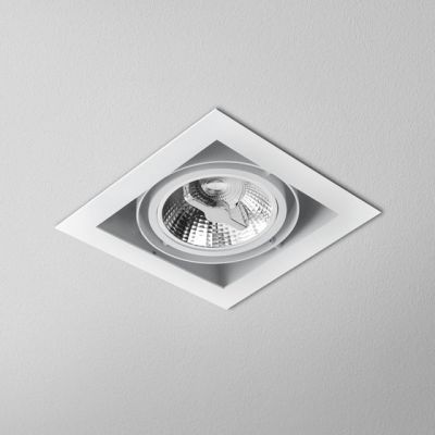 Lampa wpuszczana AQForm Squares 111 x 1 230V Recessed Biały Struktura