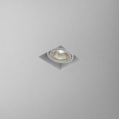 Lampa wpuszczana AQForm Squares 50 x 1 Trimless Recessed Biały Struktura
