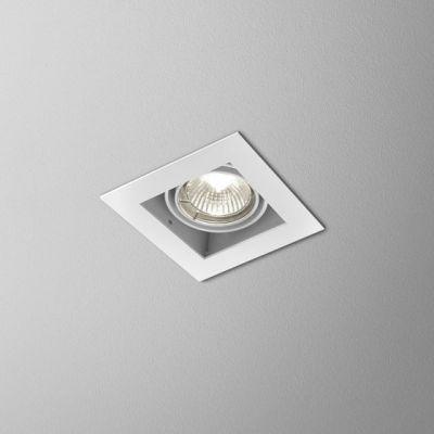 Lampa wpuszczana AQForm Squares 50 x 1 Recessed Biały Struktura