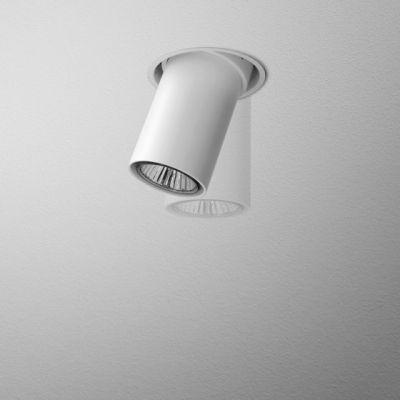 Lampa wpuszczana AQForm Swing 12 Trimless Recessed Biały Struktura