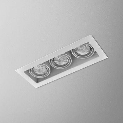 Lampa wpuszczana AQForm Squares 50 x 3 230V Recessed Biały Struktura