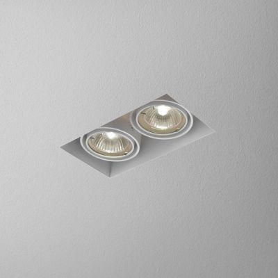 Lampa wpuszczana AQForm Squares 50 x 2 Trimless 230V Recessed Biały Struktura