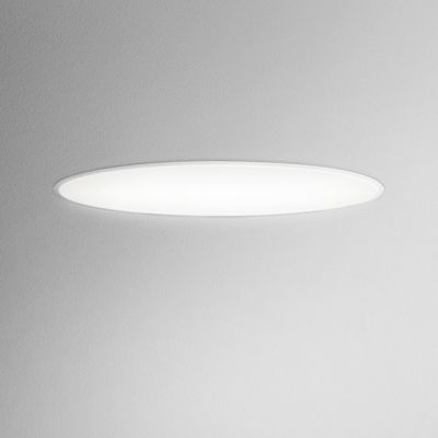 Lampa wpuszczana AQForm Maxi Ring LED Recessed Biały Struktura