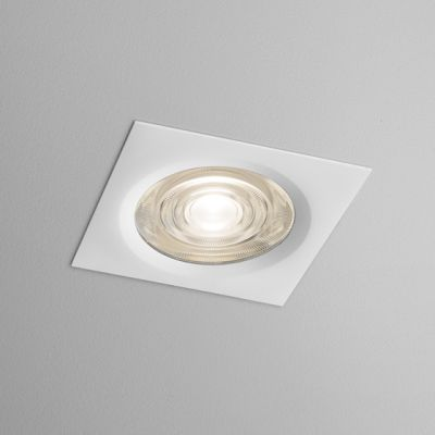 Lampa wpuszczana AQForm Only Square Mini LED 230V Hermetic Recessed Biały Mat
