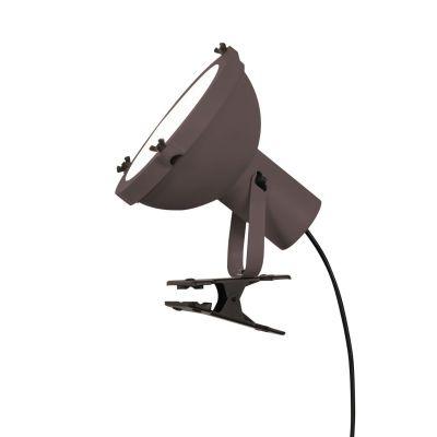 Lampa z klipsem Nemo PRPFMW11 Projecteur 165 Brązowa