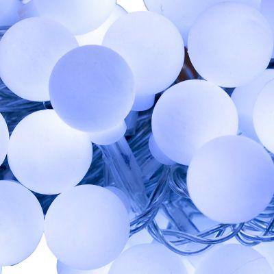 Lampki świąteczne  50 LED Zuma Line 4050 barwa biała zimna