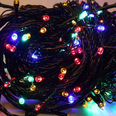 Lampki świąteczne LED Zuma Line 4060 200L kolorowe