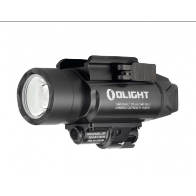 Latarka na broń Olight BALDR Pro Black z celownikiem laserowym