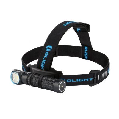 Latarka Olight H2R 2 Perun Black Kit z opaską