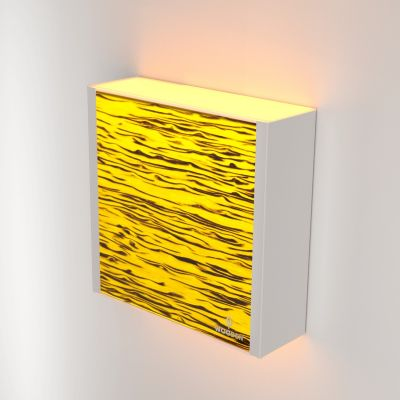 Kinkiet LED Wooden LEVEL Birch Wi-fi Control