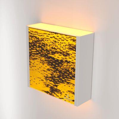 Kinkiet LED Wooden LEVEL Bircheye Wi-fi Control