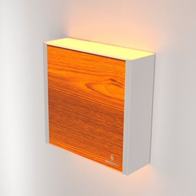 Kinkiet LED Wooden LEVEL Oak Wi-fi Control