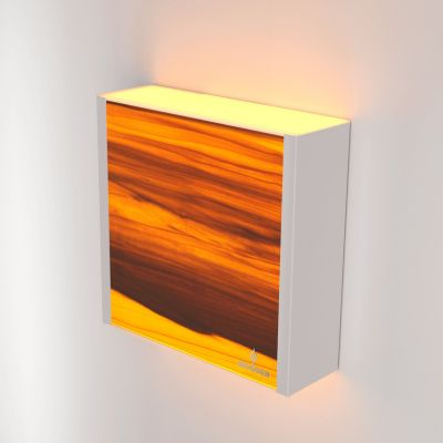 Kinkiet LED Wooden LEVEL Tulip Wi-fi Control