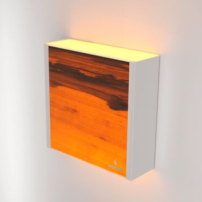 Kinkiet LED Wooden LEVEL Walnut Wi-fi Control