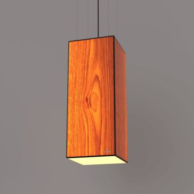 Lampa wisząca LED Wooden TIMBER Oak Wi-fi Control