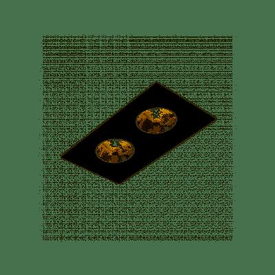 Oprawa podtynkowa AQform 30612-0000-T8-PH-12 SQUARES 111x2 Czarny struktura