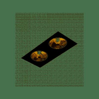 Oprawa podtynkowa AQform 31912-0000-T8-PH-12 SQUARES 111x2 trimless Czarny struktura