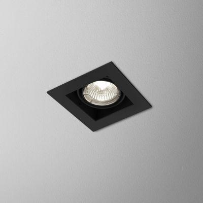 Oprawa podtynkowa AQform 36811-0000-U8-PH-12 SQUARES 50x1 230V Czarny struktura