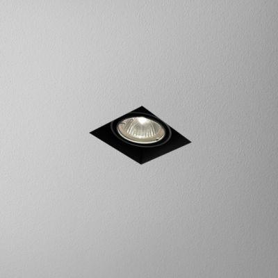 Oprawa podtynkowa AQform 37011-0000-U8-PH-12 SQUARES 50x1 trimless 230V Czarny struktura