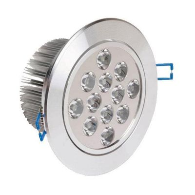 Oprawa sufitowa LED Greenie 12x1 Power LED 12W Ø135mm WW